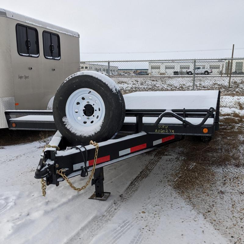 2021 Rainbow Trailers 020A27M Flatbed Trailer