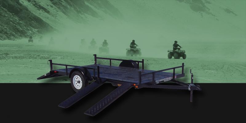 2022 Rainbow Trailers 6.5 x 14 Ramp Side Utility w/ 3500 lb. Axle