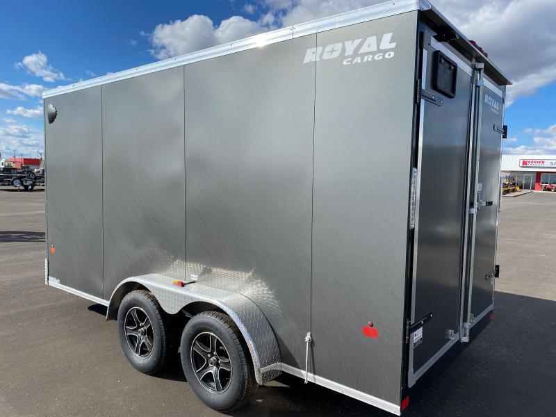 2022 Royal Cargo Trailers LCHT35-714F-78 7 x 14 Enclosed Cargo Trailer