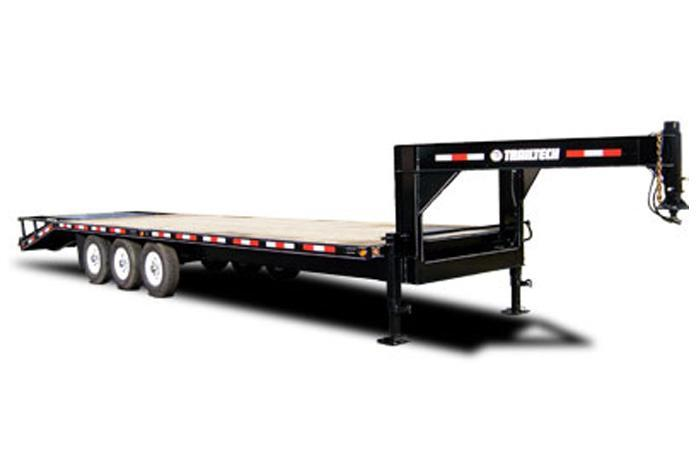 2019 Trailtech H370-24 Equipment Trailer