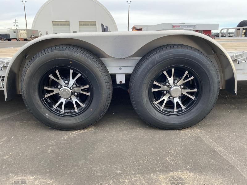 2021 Stronghaul UATF8520DT52 82 x 18′ + 2′ Aluminum Car/Equipment Trailer