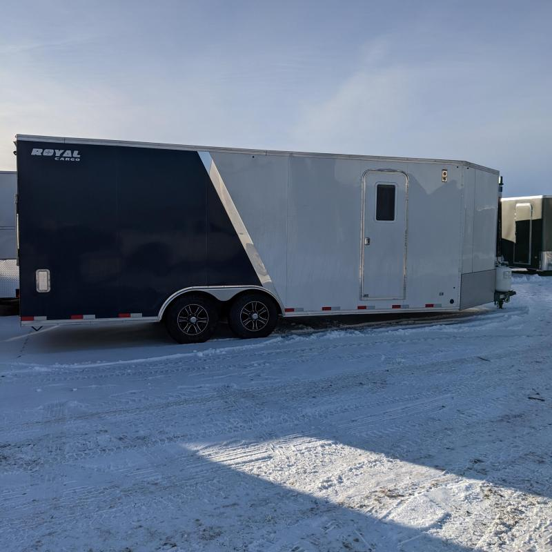2021 Royal XRARCT60-826V-86 Heated Snowmobile Trailer