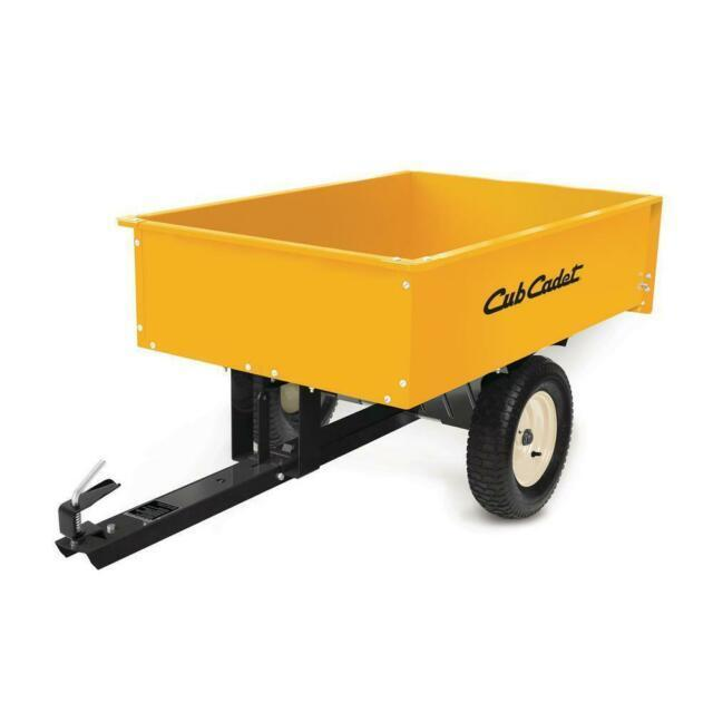 2021 Cub Cadet 12 Cu Ft Steel Dump Cart