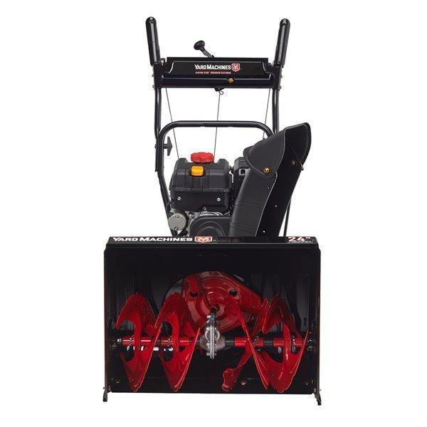 """2021 Yard Machine 2 Stage 24"""" Snow Blower"""