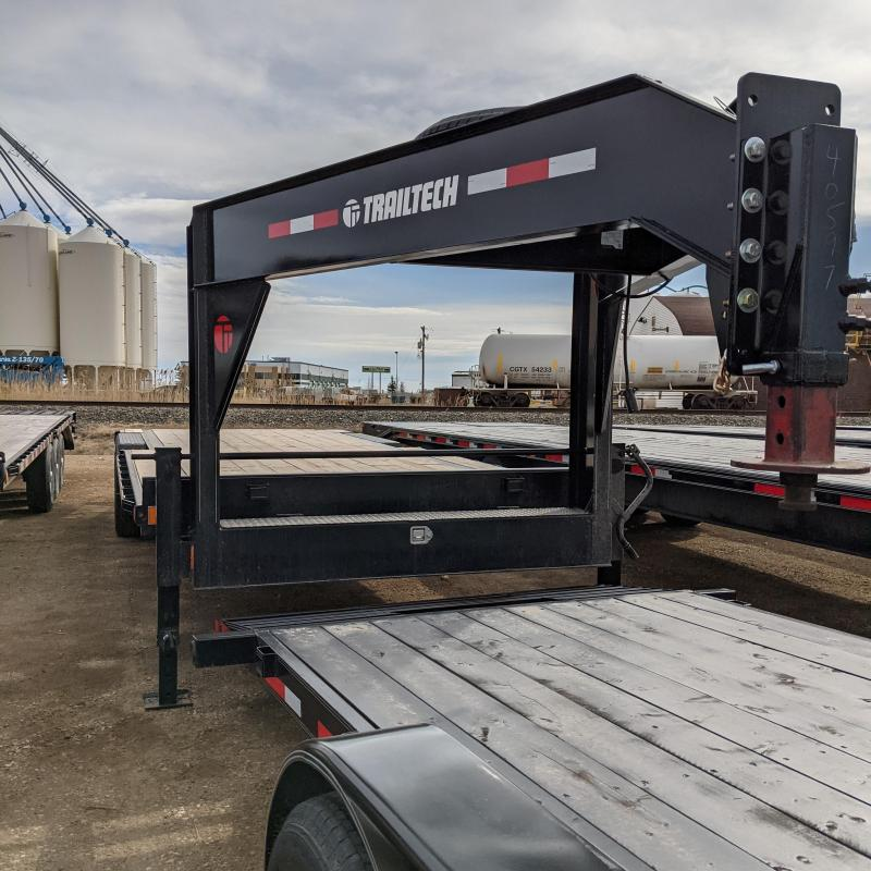 2021 Trailtech MD270-20 Gooseneck Flatbed Trailer