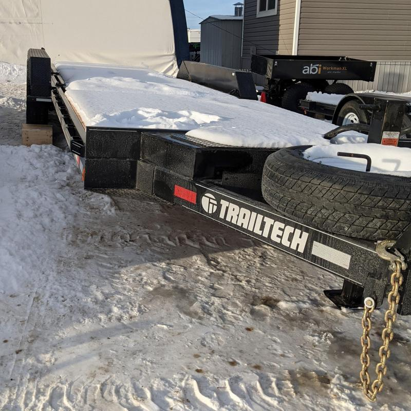 2021 Trailtech L370-24 Equipment Trailer