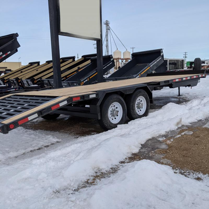 2021 Trailtech MD270-20 Flatbed Trailer