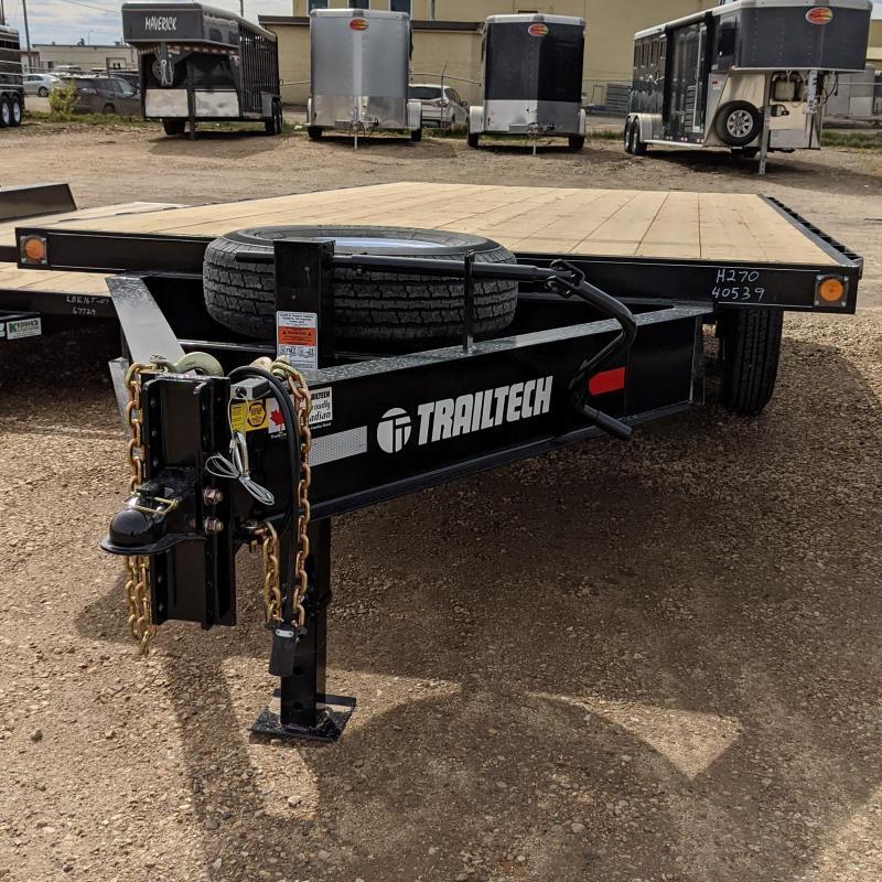 2021 Trailtech H270-16 Equipment Trailer