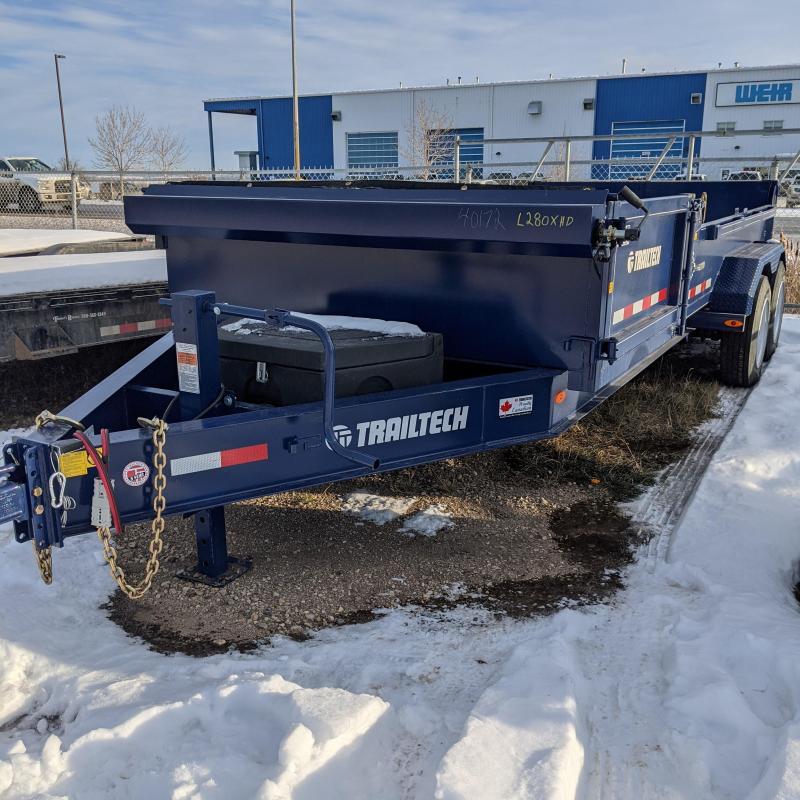 2021 Trailtech L280XHDKH-16 Dump Trailer