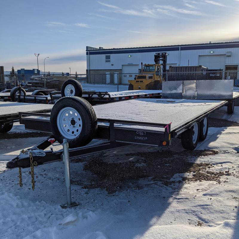 2021 Rainbow Trailers 014A23M Flatbed Trailer