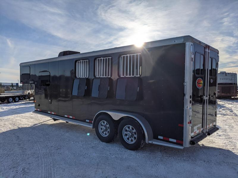 2021 Sundowner Santa Fe 3 Horse Gooseneck Trailer with Living Quarters