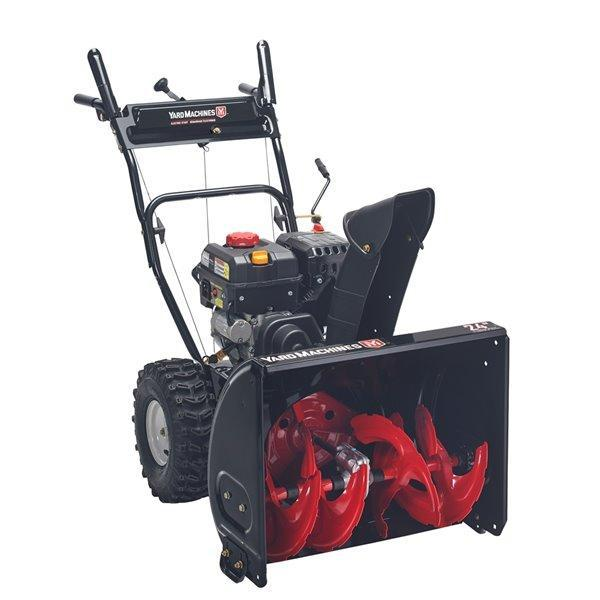 "2021 Yard Machine 2 Stage 24"" Snow Blower"