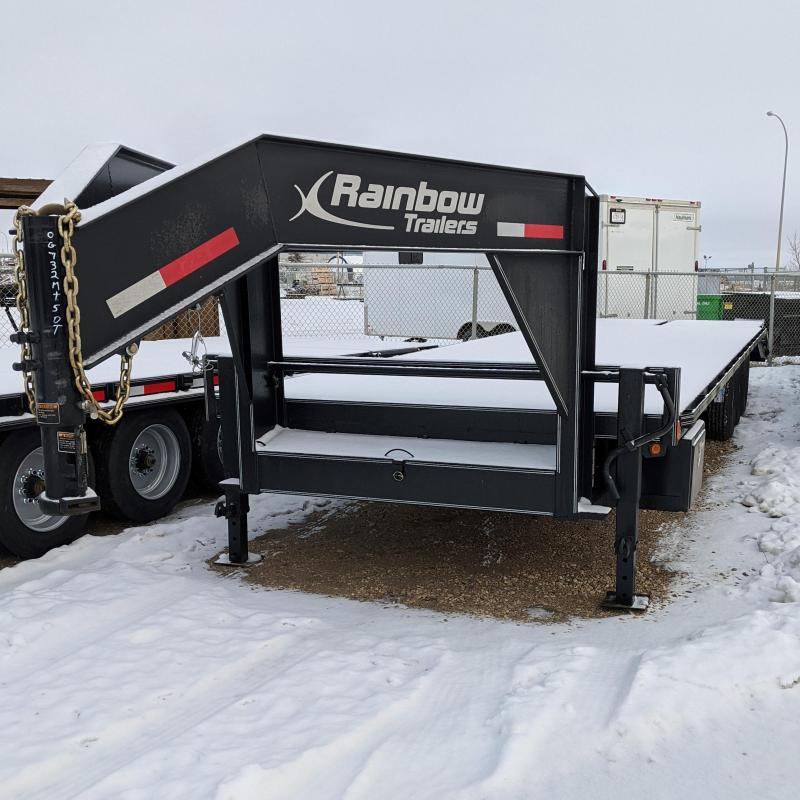2021 Rainbow Trailers OG7325M + 5DT Flatbed Trailer