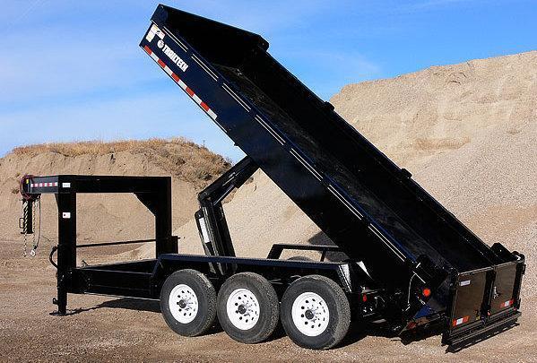 2019 Trailtech L370HD-16 Dump Trailer