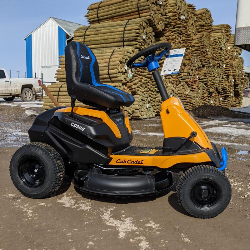 2021 Cub Cadet CC30E Electric Riding Lawn Mower