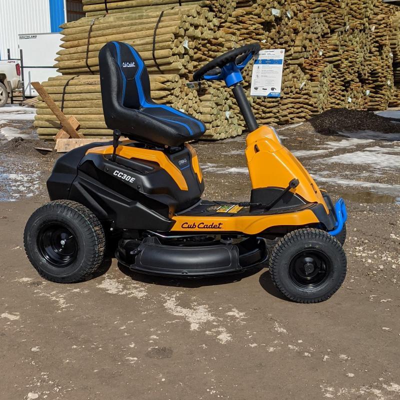 2021 Cub Cadet CC30E Electric Riding Lawn Mower