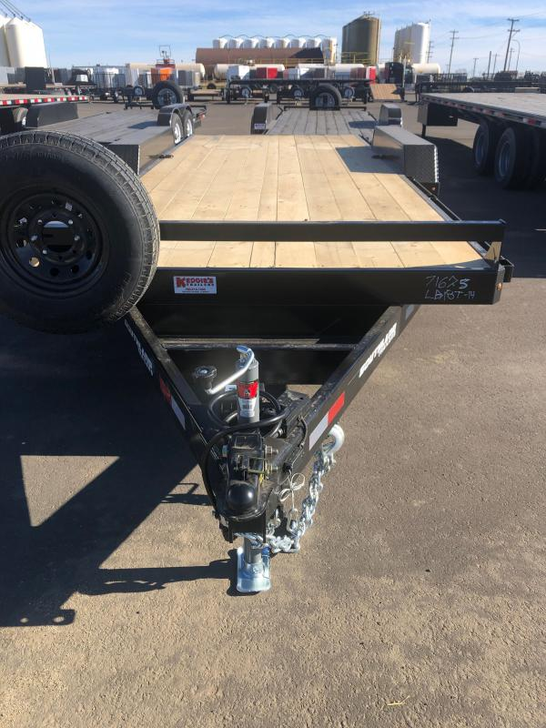 2022 Southland Trailers LBAT7 - 18ft Tandem Axle Equipment Trailer