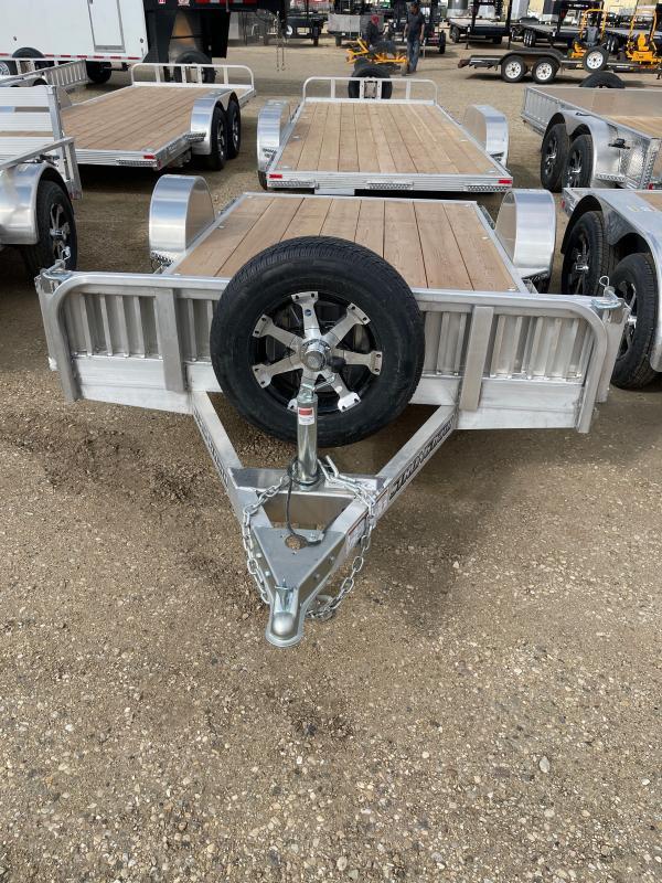 2021 Stronghaul UASF812 76x12 ALUMINUM Utility Trailer
