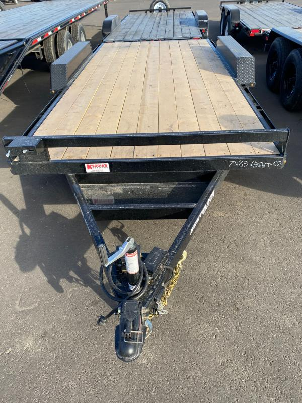 2022 Southland Trailers LBAT35 - 16ft Tandem Axle Equipment Trailer