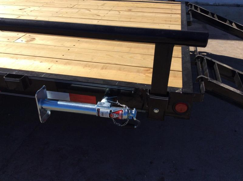 "PJ Trailers 24' x 6"" Channel Equipment Trailer"
