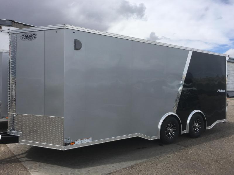 2021 Cargo Express Pro Flat Top Auto 10k Car / Racing Trailer
