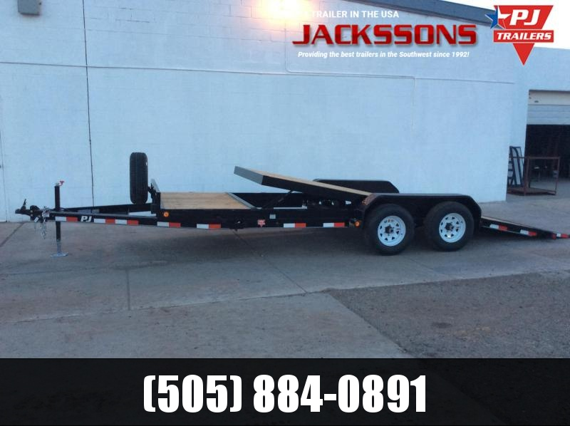 "2020 PJ Trailers 16' x 6"" Channel Equipment Tilt Trailer"