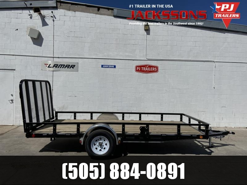 2020 PJ Trailers 72X12 Single Axle Utility Trailer