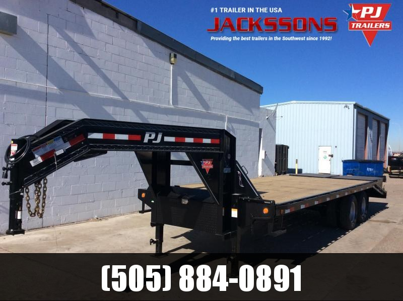 PJ Trailers 25' Low-Pro Flatdeck with Duals Trailer