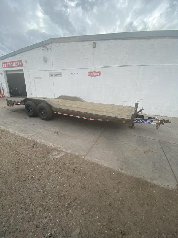 Load Trail 22FT EQUIPMENT BUGGY BED Equipment Trailer