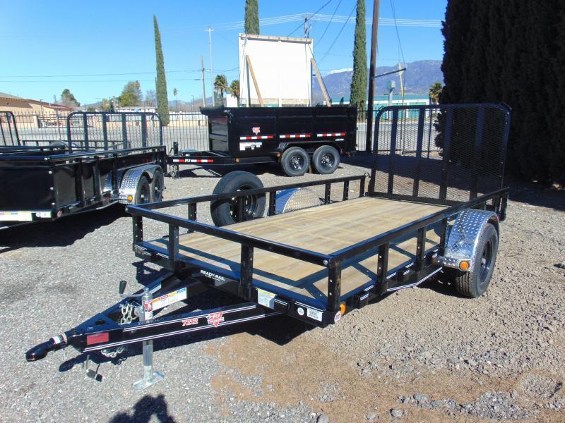 2019 PJ Trailers 77X12 Single Axle Utility Trailer