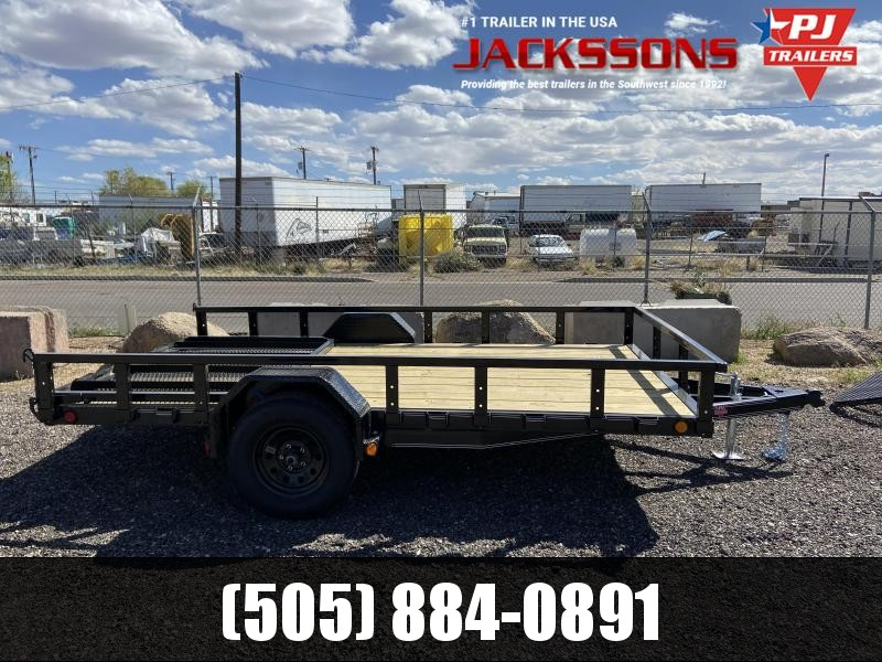 2019 PJ Trailers 77X12 Single Axle Utility Trailer