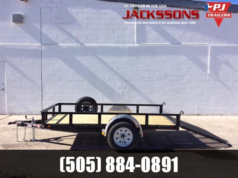 "PJ Trailers 8' x 60"" Channel Utility Trailer"
