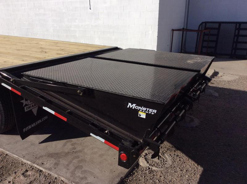 PJ Trailers 25' Classic Flatdeck with Duals Trailer