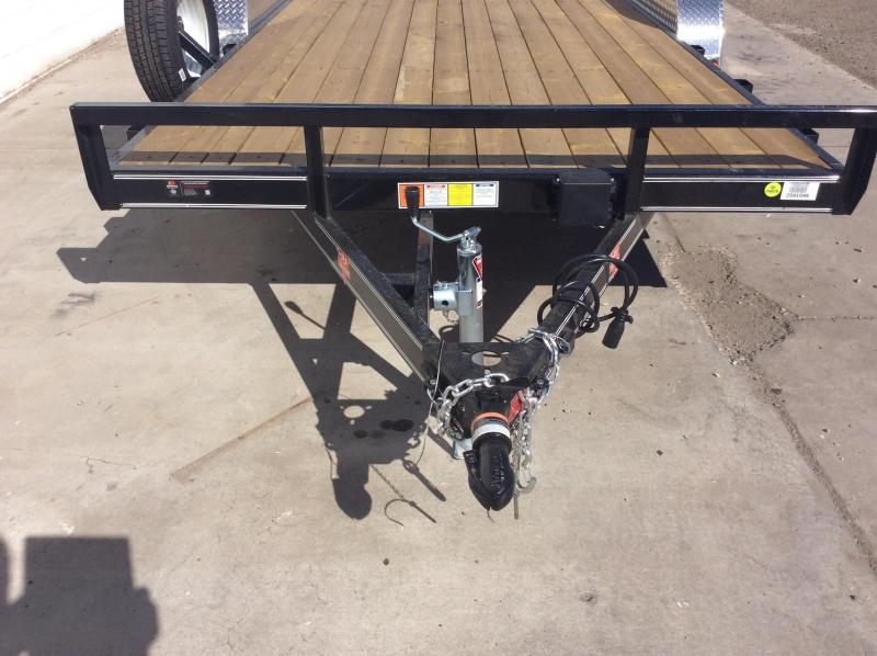"2019 PJ Trailers 18' x 4"" Channel Carhauler Trailer"