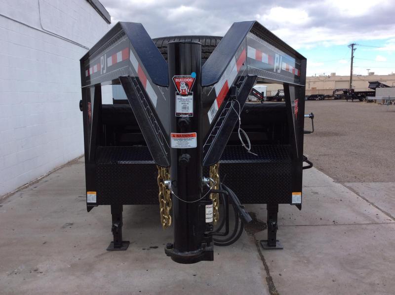 "2021 PJ GN 14' x 83"" Tandem Axle Dump Trailer"