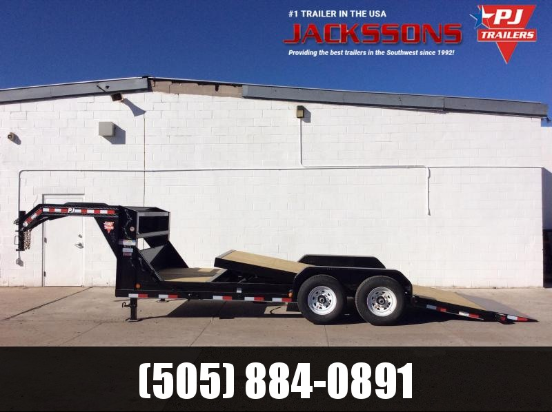 "PJ Trailers 20' x 6"" Channel Equipment TILT Trailer"