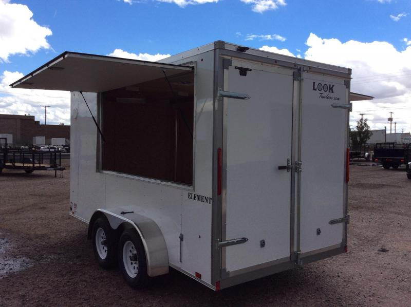 2019 Look Trailers VENDING 7X14 Vending / Concession Trailer