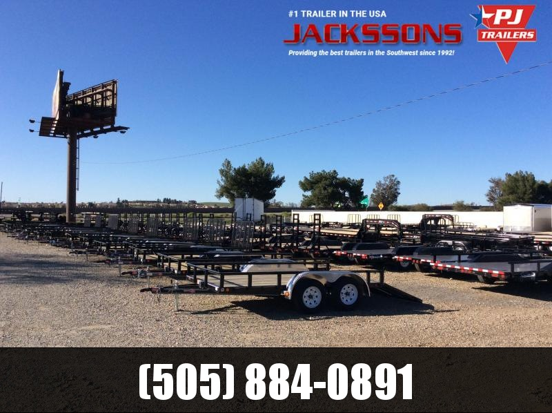 "PJ Trailers 14' x 77"" Channel Utility Trailer"