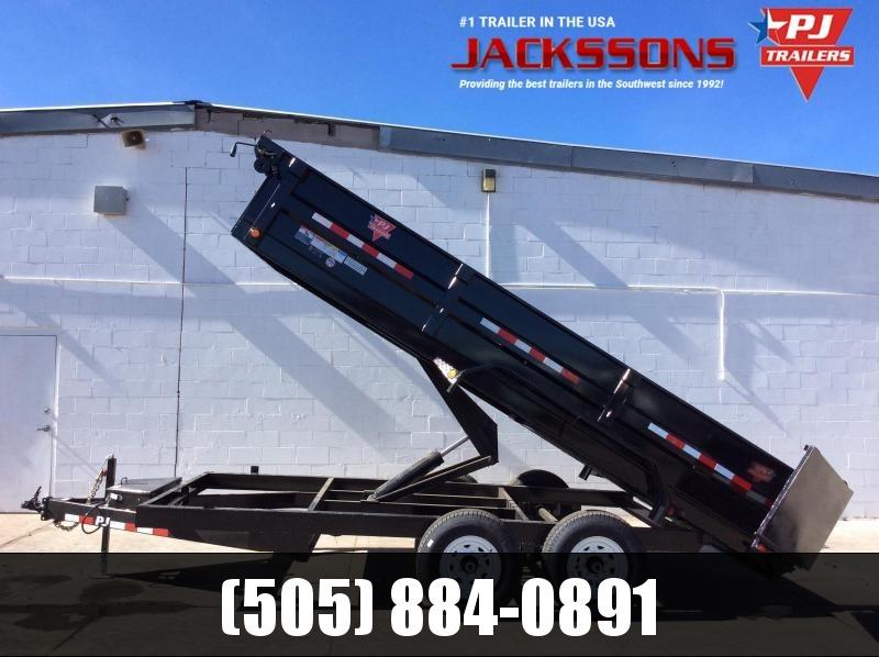 "PJ Trailers 12' x 83"" Tandem Axle Dump Trailer"