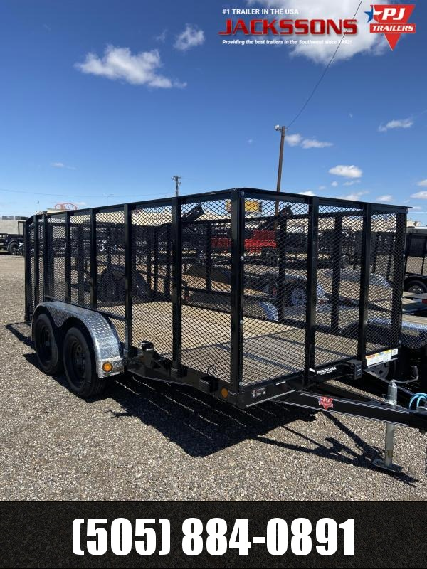 2020 PJ Trailers 77 in. Tandem Axle Channel Utility (UK) Utility Trailer
