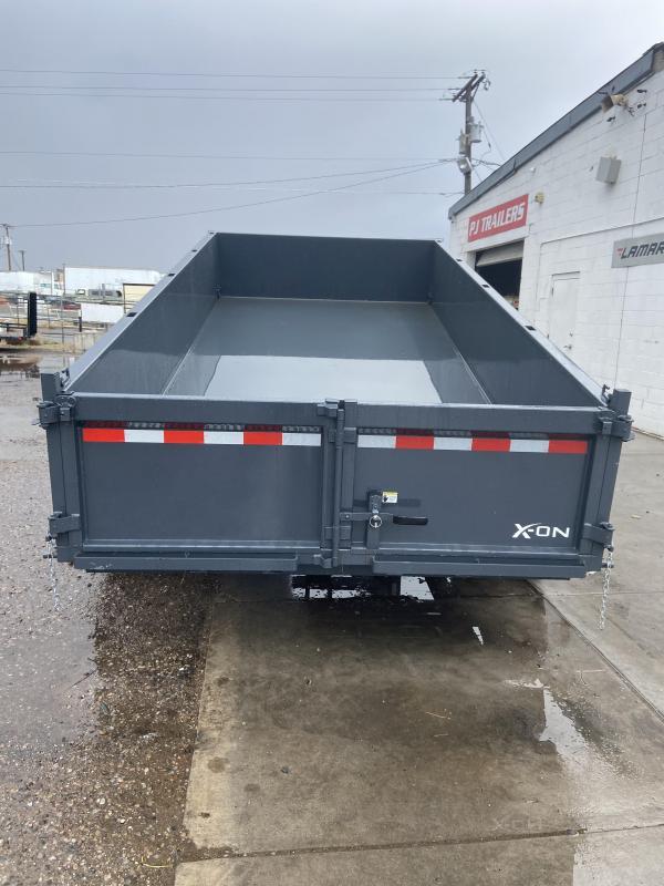 """X-ON GN 14' x 83"""" Tandem Axle Dump Trailer"""