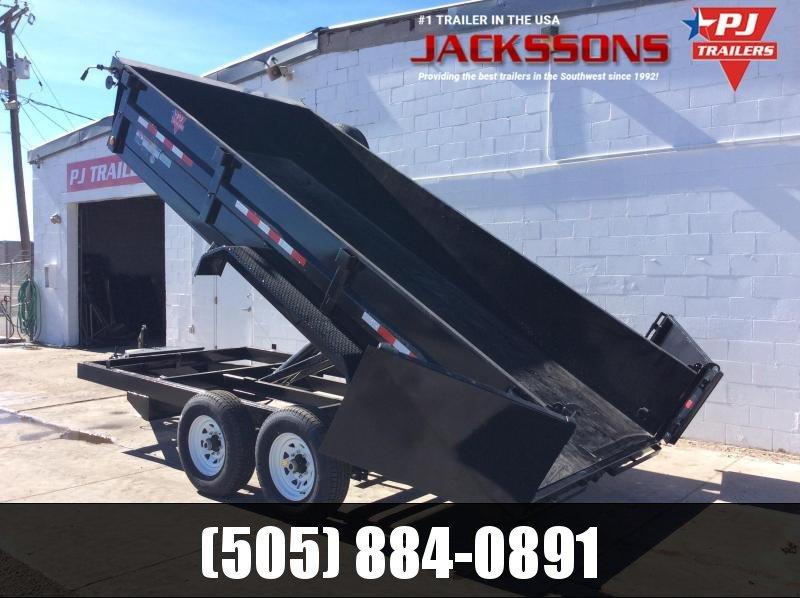 "2020 PJ Trailers 12' x 83"" Tandem Axle Dump Trailer"