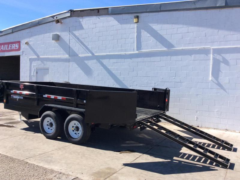 "2020 PJ BP 14' x 83"" Tandem Axle Dump Trailer"