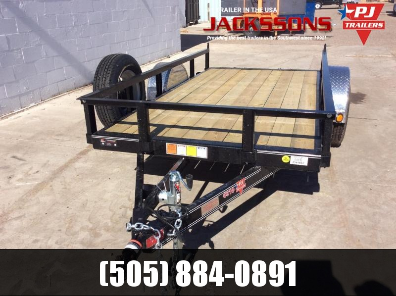 "PJ Trailers 10' x 60"" Channel Utility Trailer"