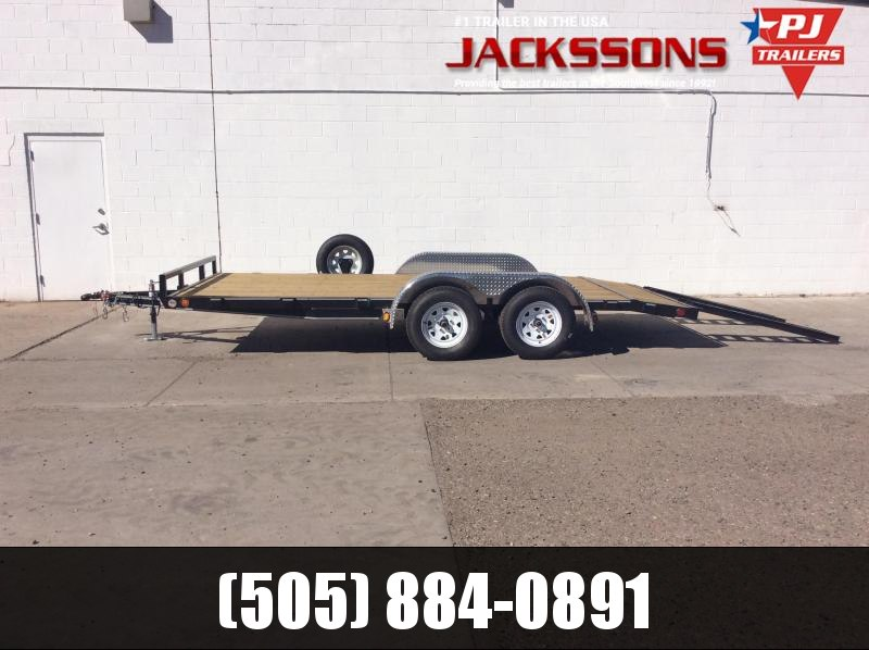 "2019 PJ Trailers 16' x 4"" Channel Carhauler Trailer"