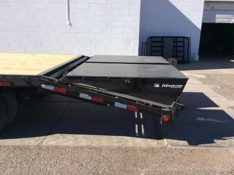 PJ Trailers 30' Classic Flatdeck with Duals Trailer