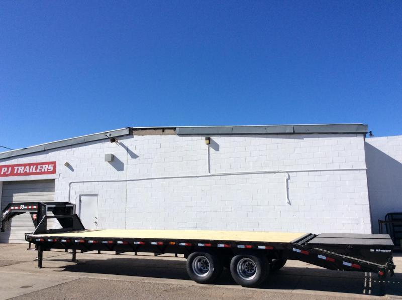 2020 PJ Trailers 30' Classic Flatdeck with Duals Trailer