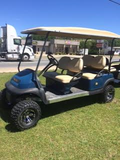 Club Car Precedent 6 Passenger Limo - Blue