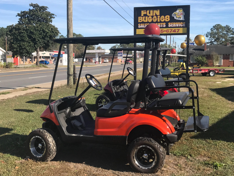 2014 Yamaha 2+2 Passenger Golf Cart