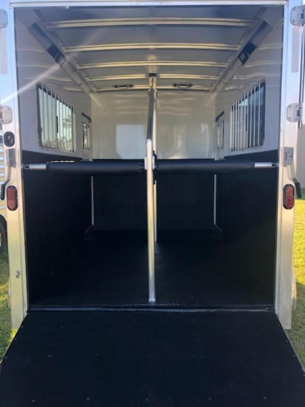 2022 Exiss Trailers 2 horse straight load bumper pull (model 724) Horse Trailer
